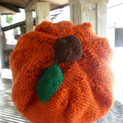 The Strange: pumpkin hat2