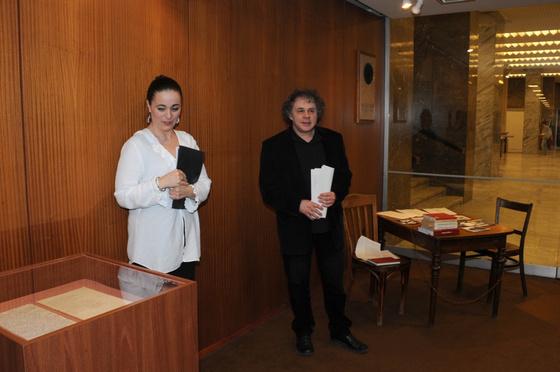 Országos Széchényi Könyvtár: Sudár Annamária és Bakos József