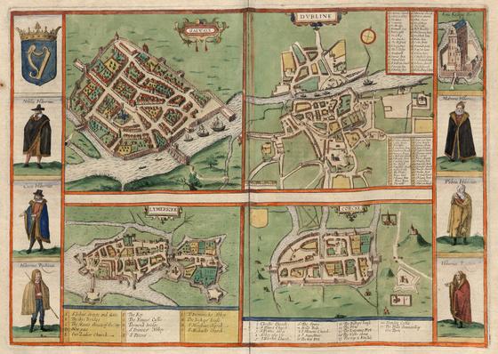 Országos Széchényi Könyvtár: Dublin (Dubline) XVI–XVII. század fordulóján