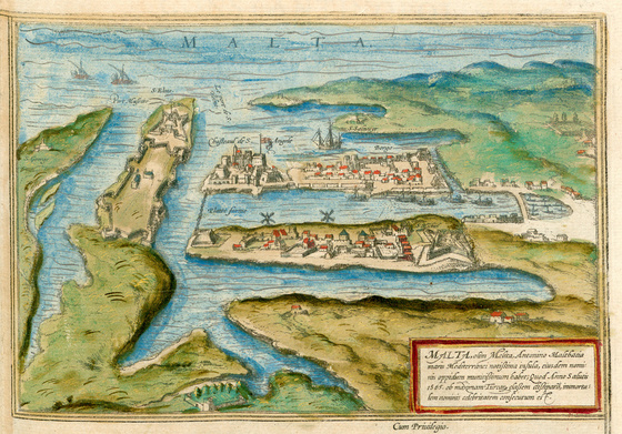 Országos Széchényi Könyvtár: Valetta a XVI–XVII. század fordulóján