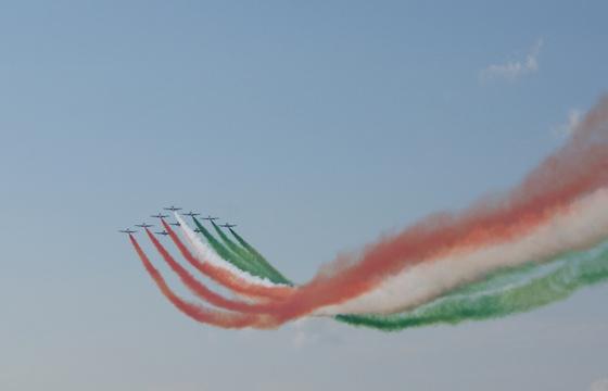 tourista: Repülőnap 2010 - Frecce Tricolori