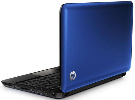 HP Mini 210 kék