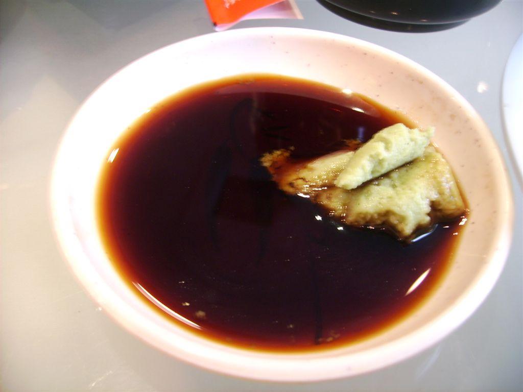 szójaszósz+wasabi mustár (Sushi Express)