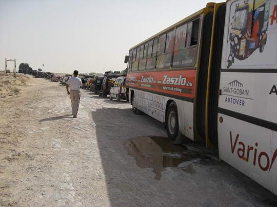 geszter: Sor a Mauritán határon