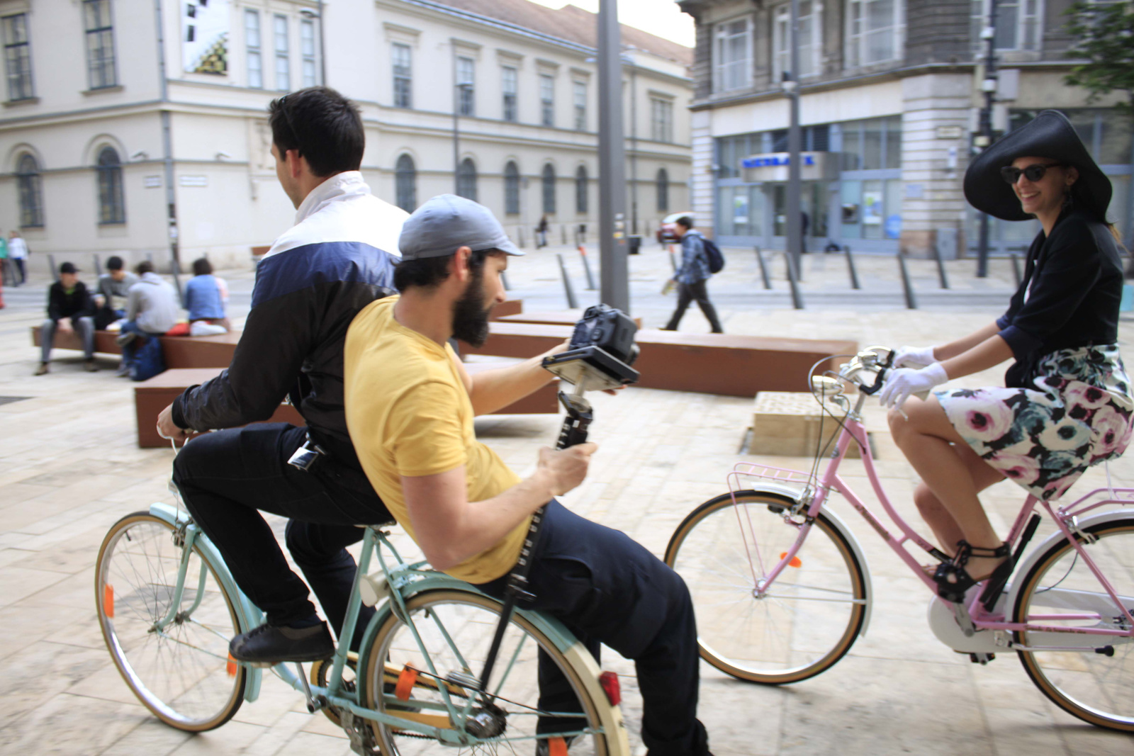 I love Budapest. I bike Budapest.