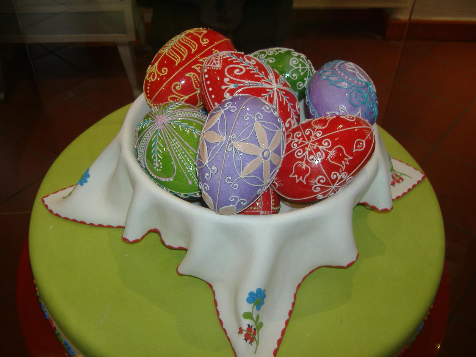 Marcipán húsvéti tojások
