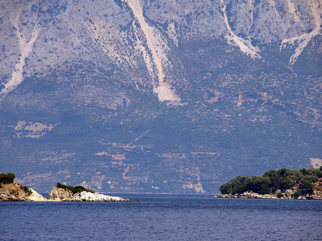 A görög szárazföld