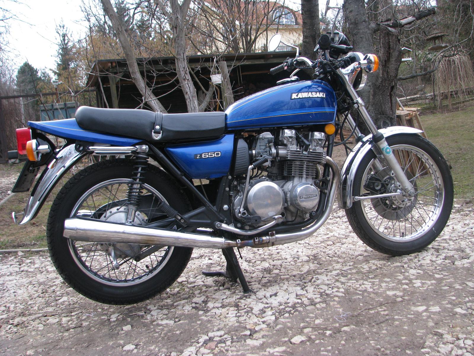 Kawasaki z650 1