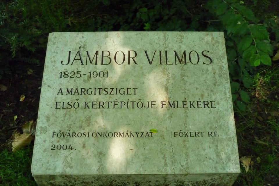Jámbor Vilmos emlékére